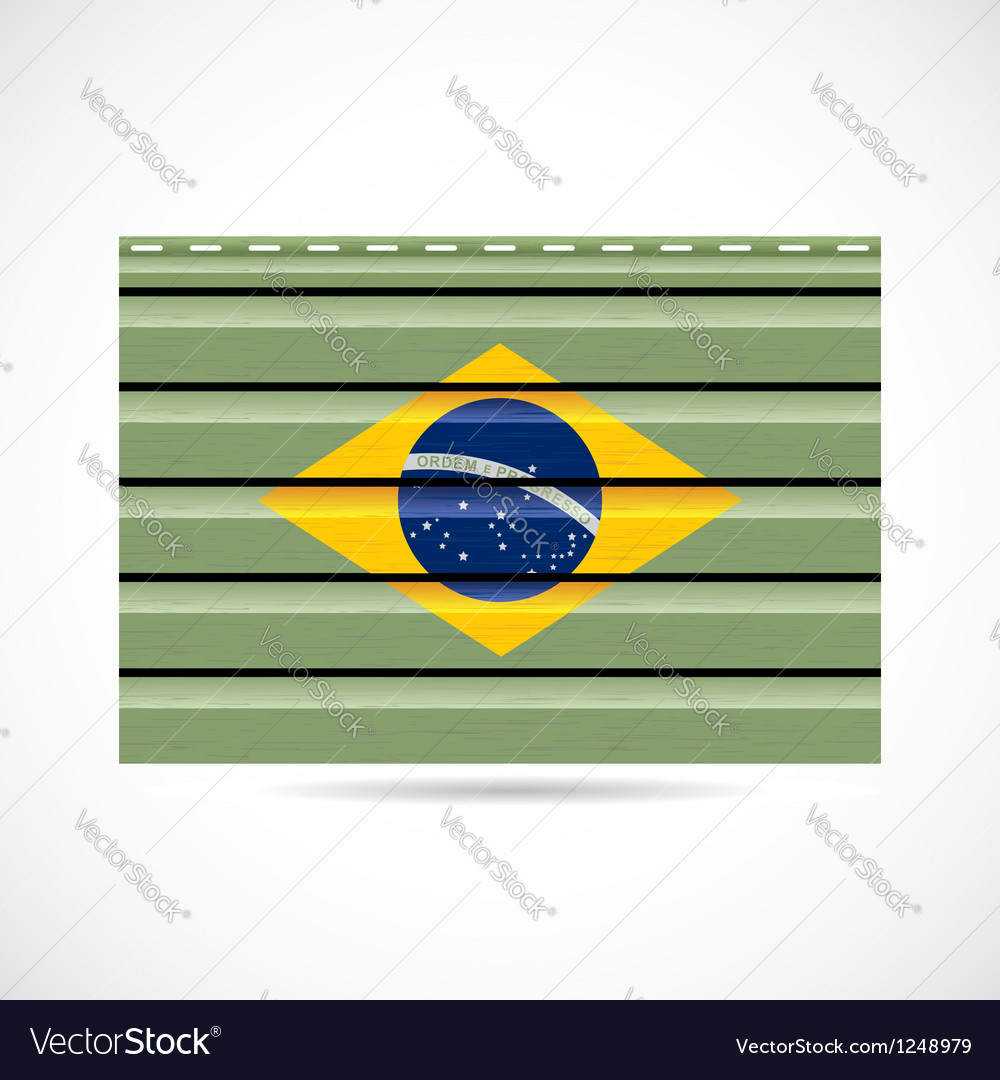 Brazil siding produce company icon vector | Price: 1 Credit (USD $1)