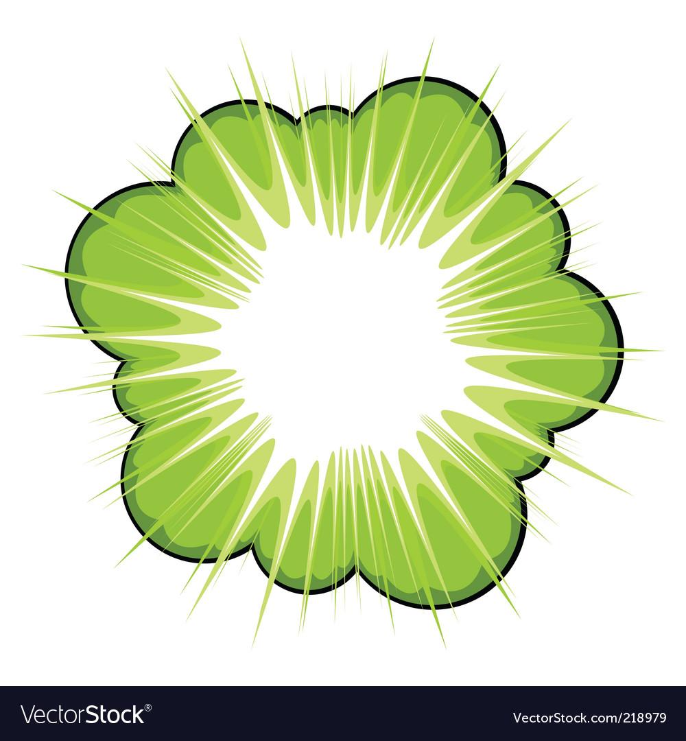 Graphic flower vector