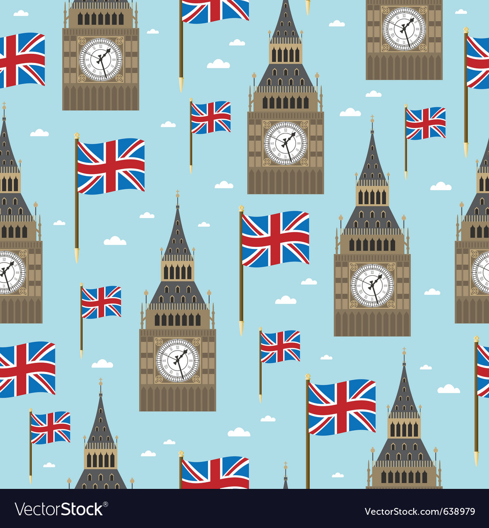 Great britain pattern vector | Price: 1 Credit (USD $1)
