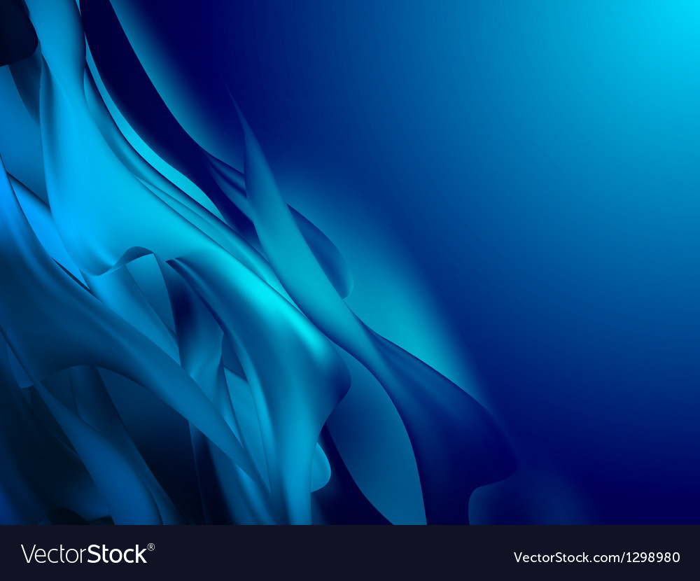 Blue abstract composition eps 10 vector | Price: 1 Credit (USD $1)