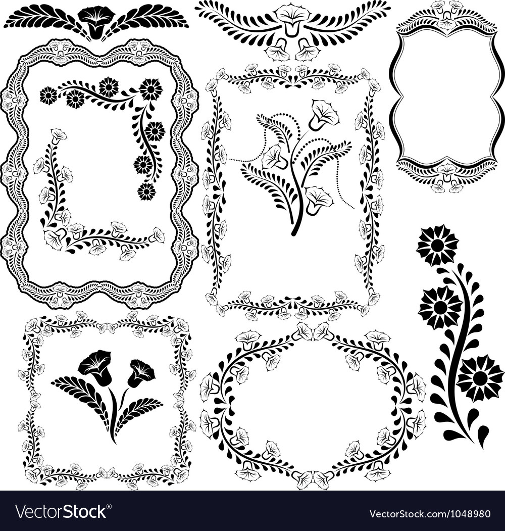 Borders and frames vector   Price: 1 Credit (USD $1)