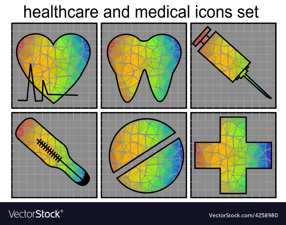 Healthcare and medical icon vector | Price: 1 Credit (USD $1)