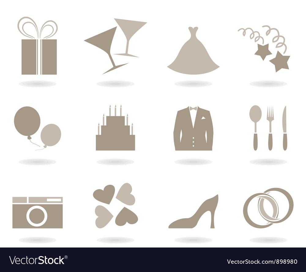 Wedding icon vector   Price: 1 Credit (USD $1)