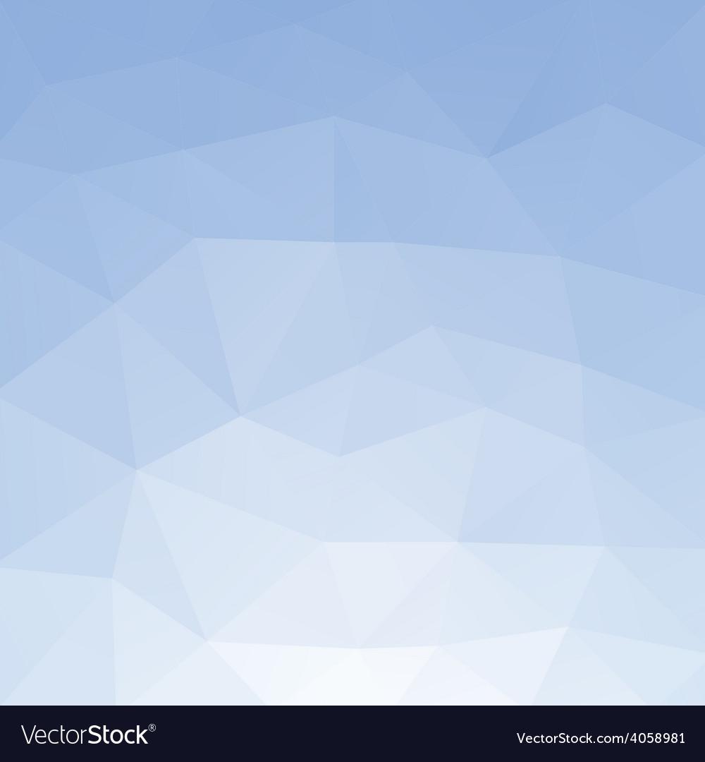 Light blue polygonal background vector | Price: 1 Credit (USD $1)