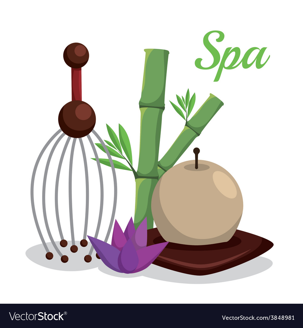 Spa relax vector | Price: 1 Credit (USD $1)