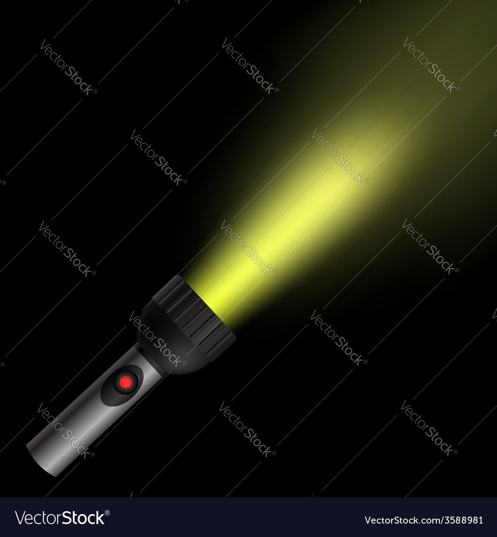 Torch light vector | Price: 1 Credit (USD $1)