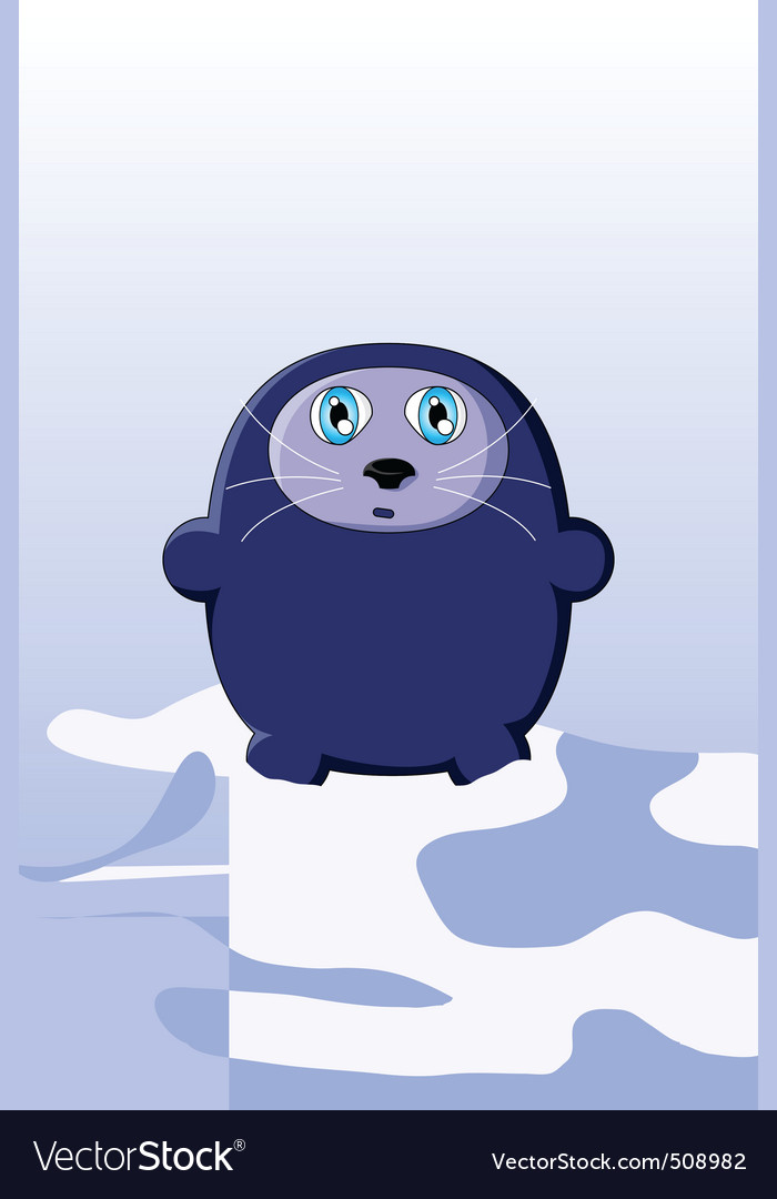 Cute seal vector | Price: 1 Credit (USD $1)