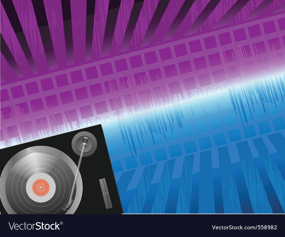 Techno background vector | Price: 3 Credit (USD $3)