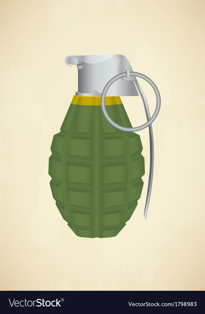 Grenade icon vector | Price: 1 Credit (USD $1)