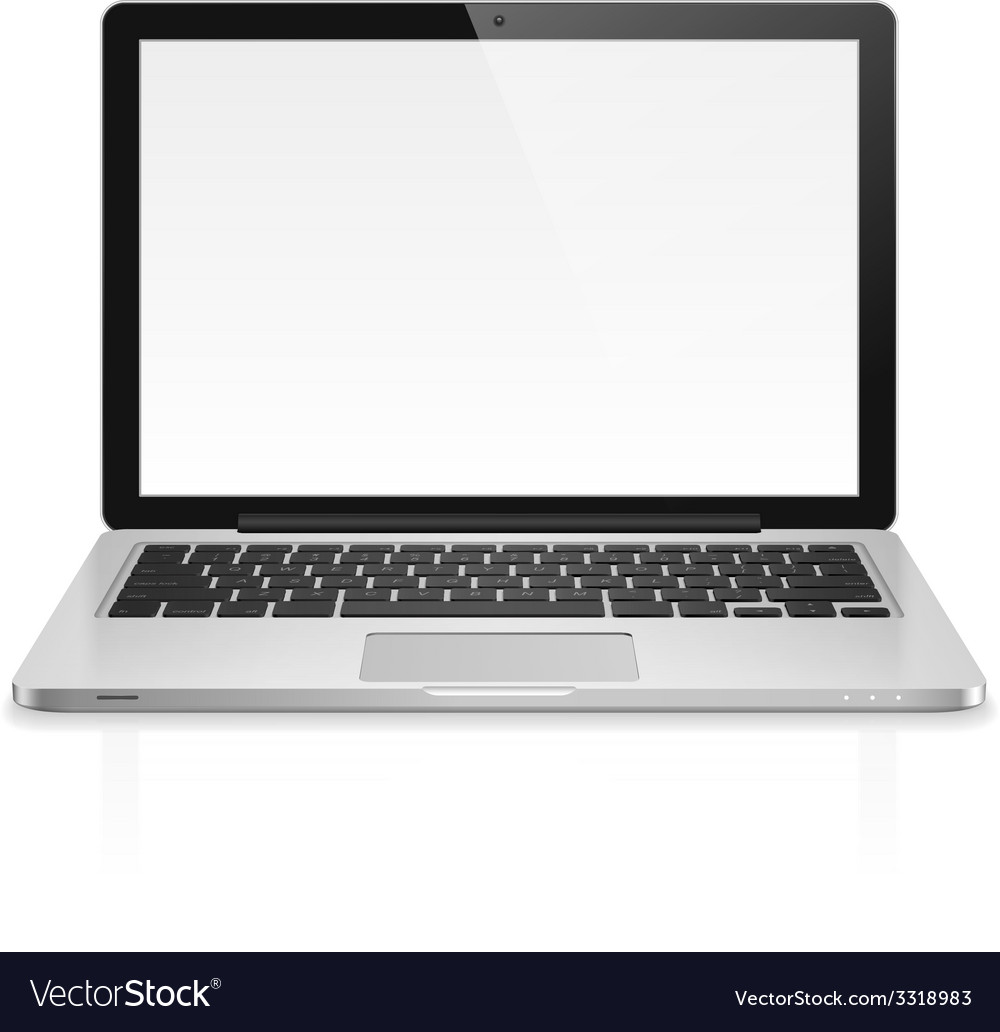 Laptop vector | Price: 1 Credit (USD $1)