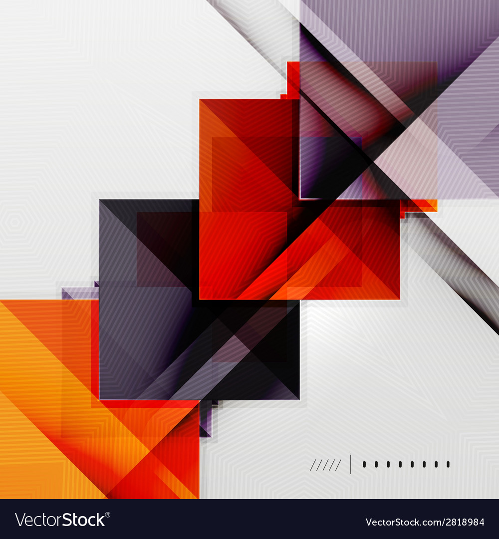 Geometric squares and rhombus futuristic template vector   Price: 1 Credit (USD $1)