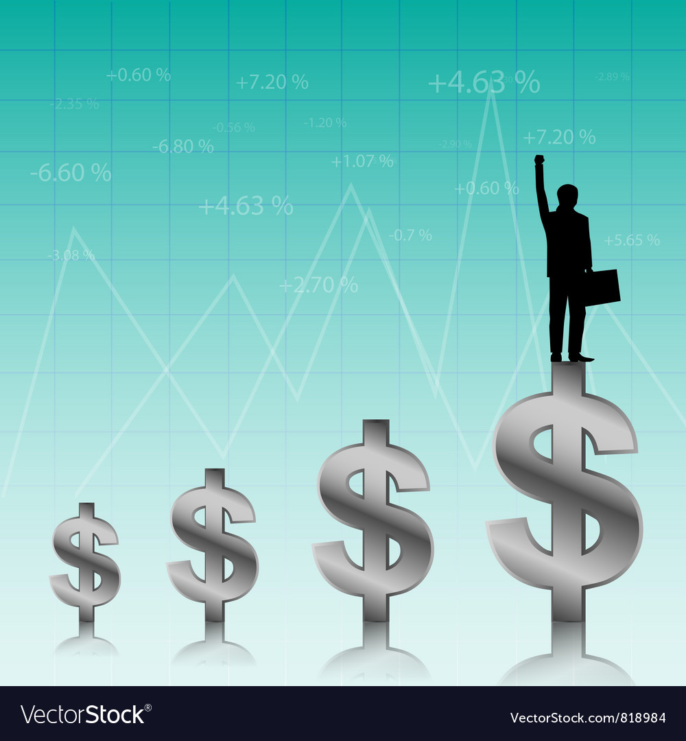 Success of the businessman vector   Price: 1 Credit (USD $1)