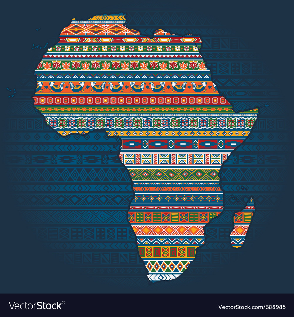 Ethnic african elements vector | Price: 1 Credit (USD $1)