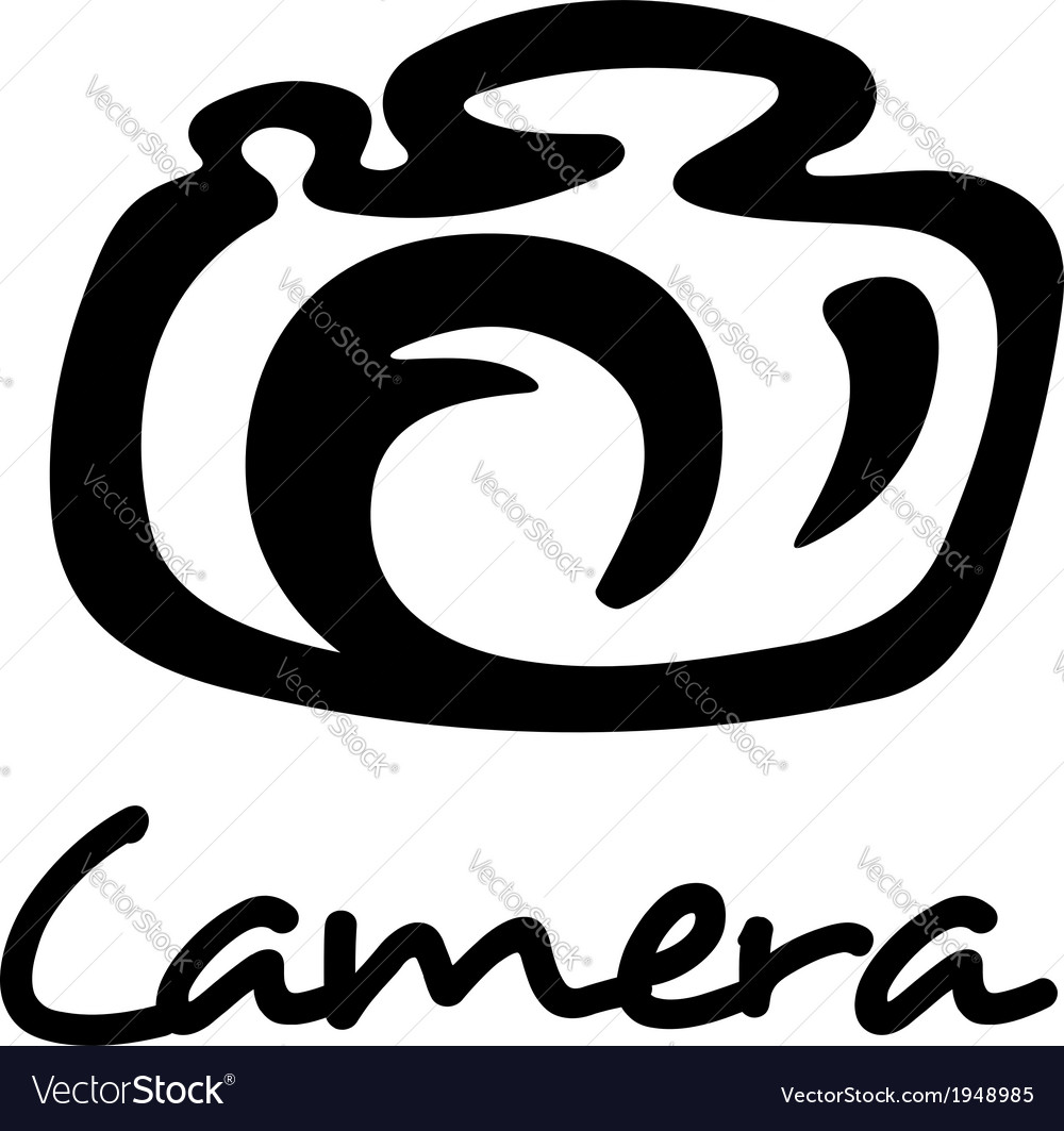 Photo camera icon vector | Price: 1 Credit (USD $1)