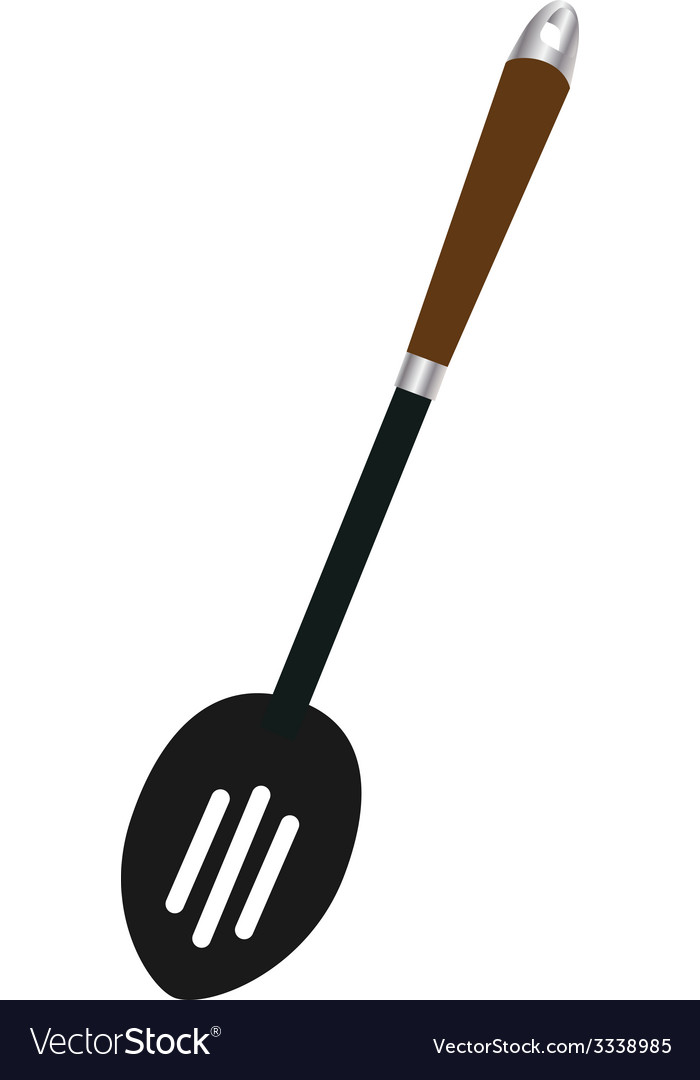 Slotted spoon vector | Price: 1 Credit (USD $1)