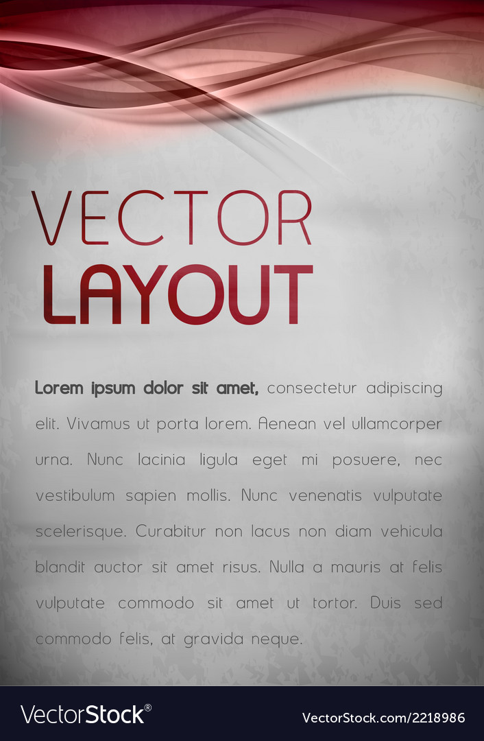 Abstract layout vector | Price: 1 Credit (USD $1)