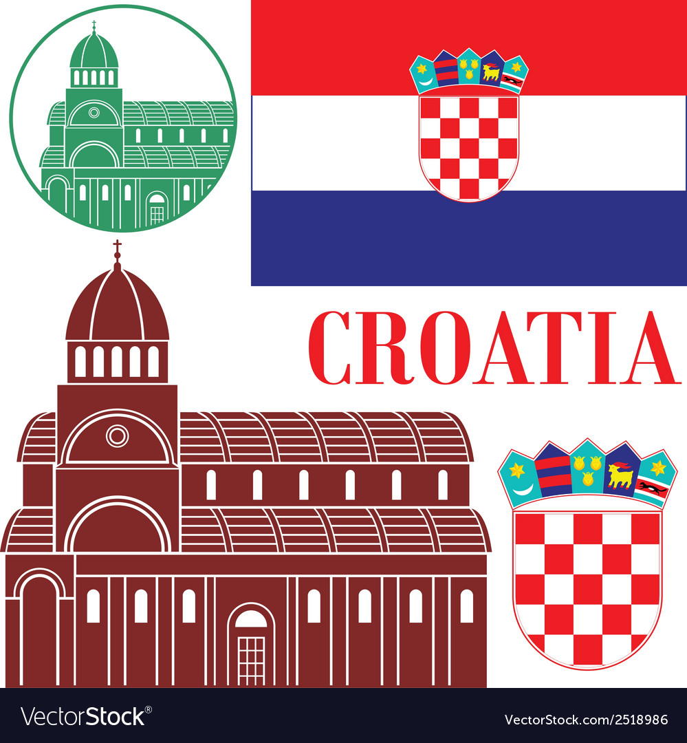 Croatia vector   Price: 1 Credit (USD $1)