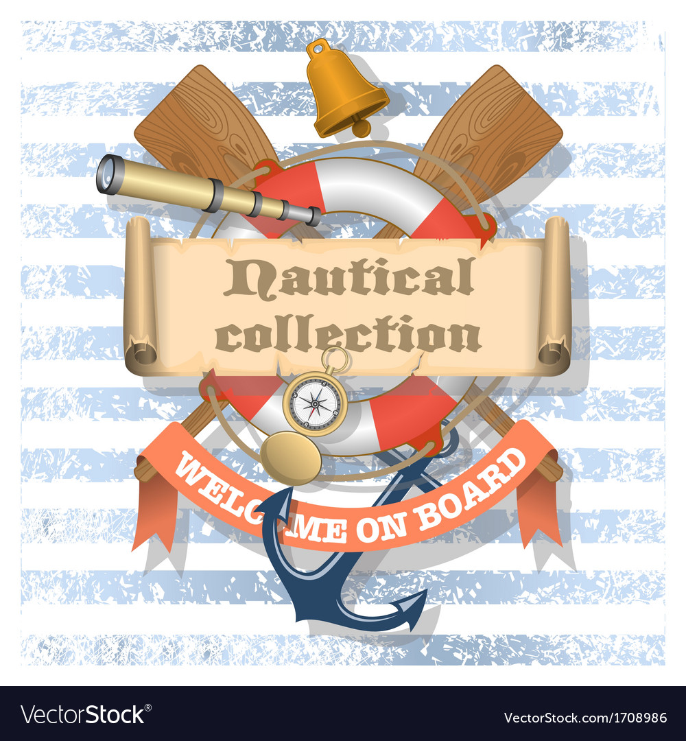 Nautical collection 1 xs vector | Price: 1 Credit (USD $1)