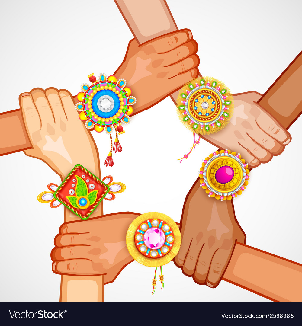 Raksha bandhan vector | Price: 1 Credit (USD $1)