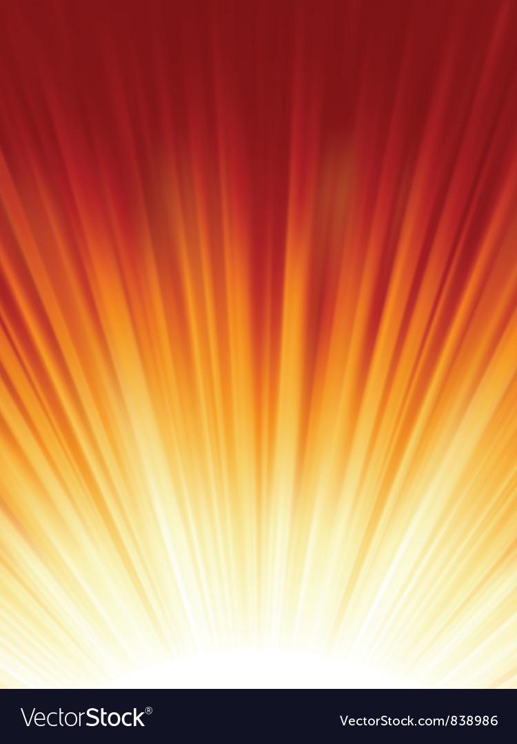 Red luminous rays vector | Price: 1 Credit (USD $1)