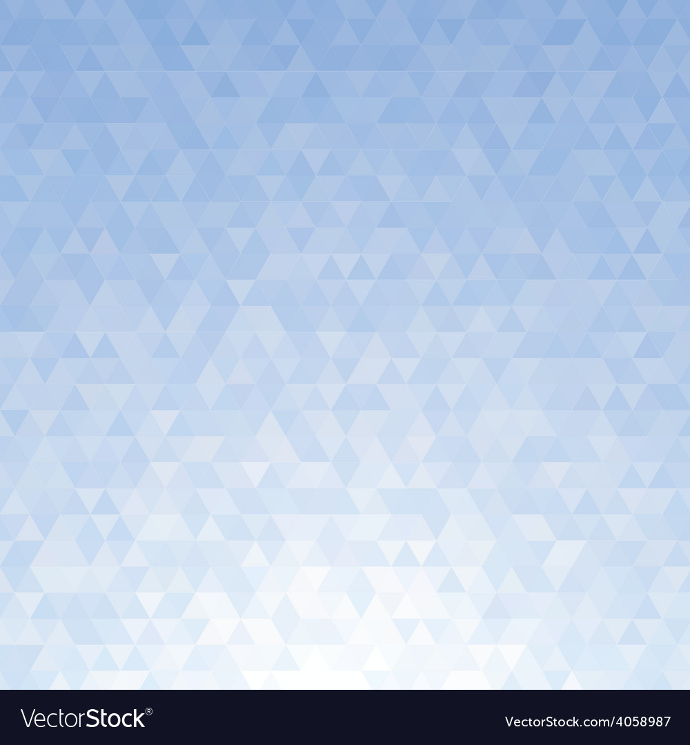 Abstract blue triangle background vector | Price: 1 Credit (USD $1)