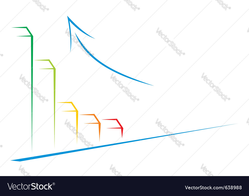 Growth on graph vector | Price: 1 Credit (USD $1)