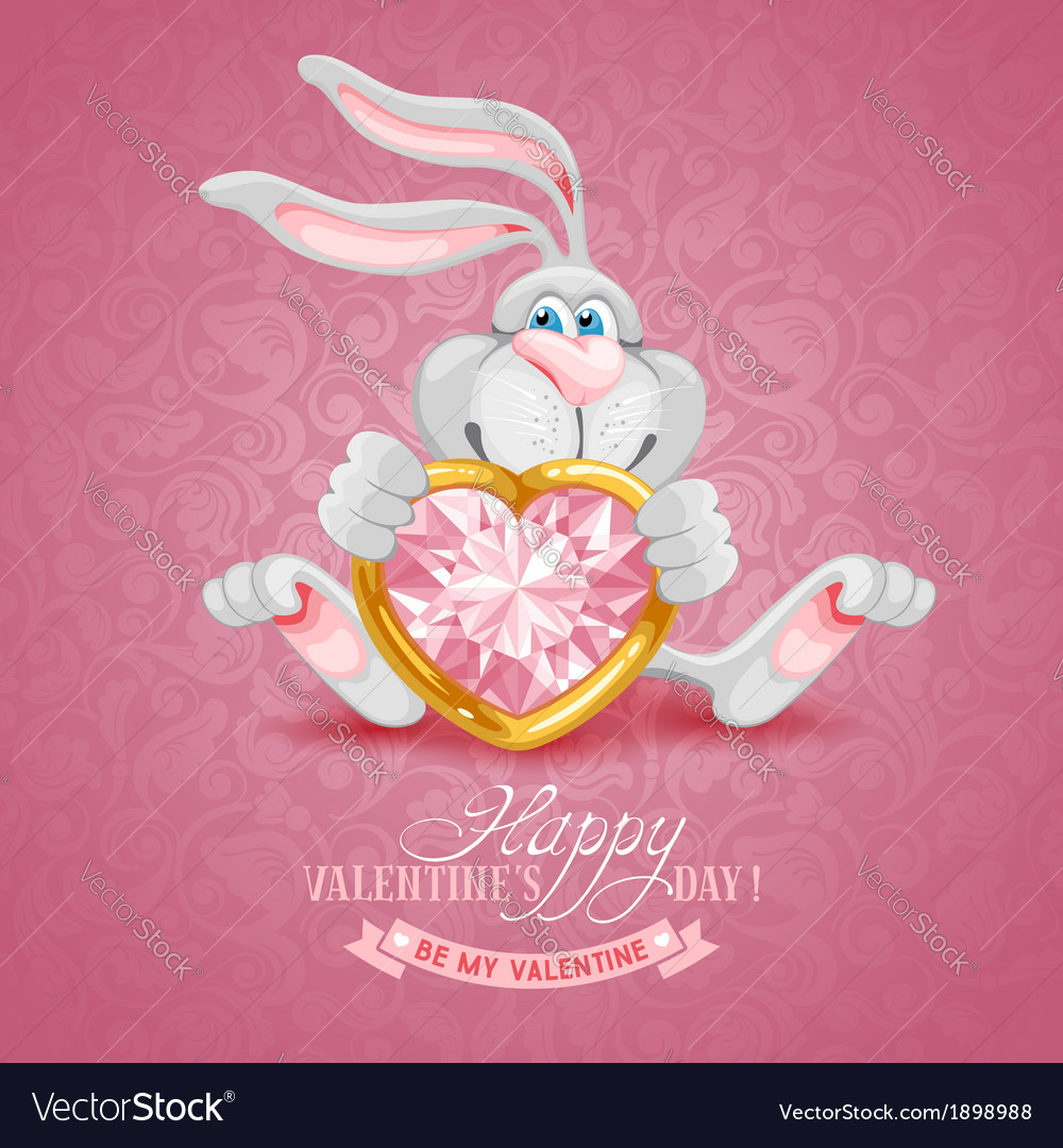 Happy valentines day vector | Price: 3 Credit (USD $3)