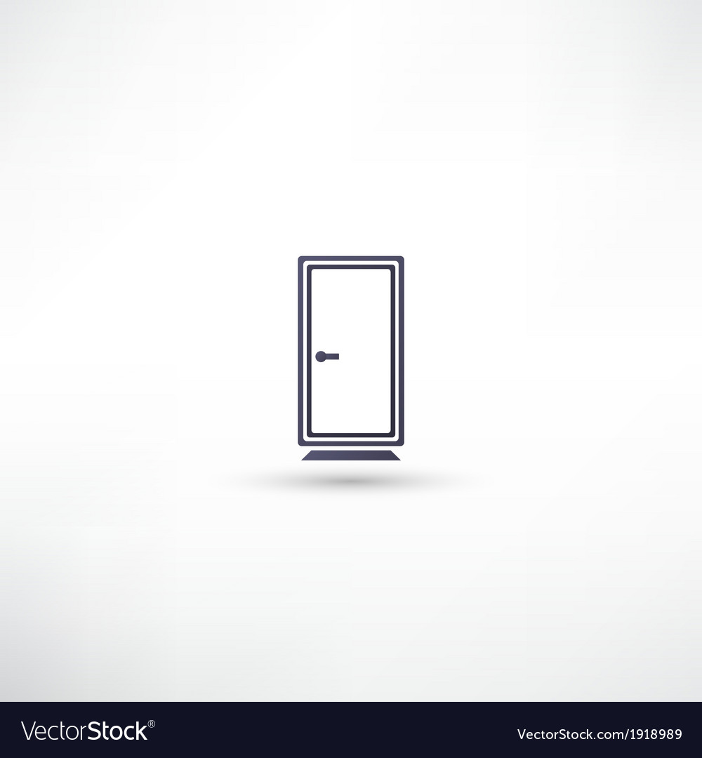 Door icons vector | Price: 1 Credit (USD $1)