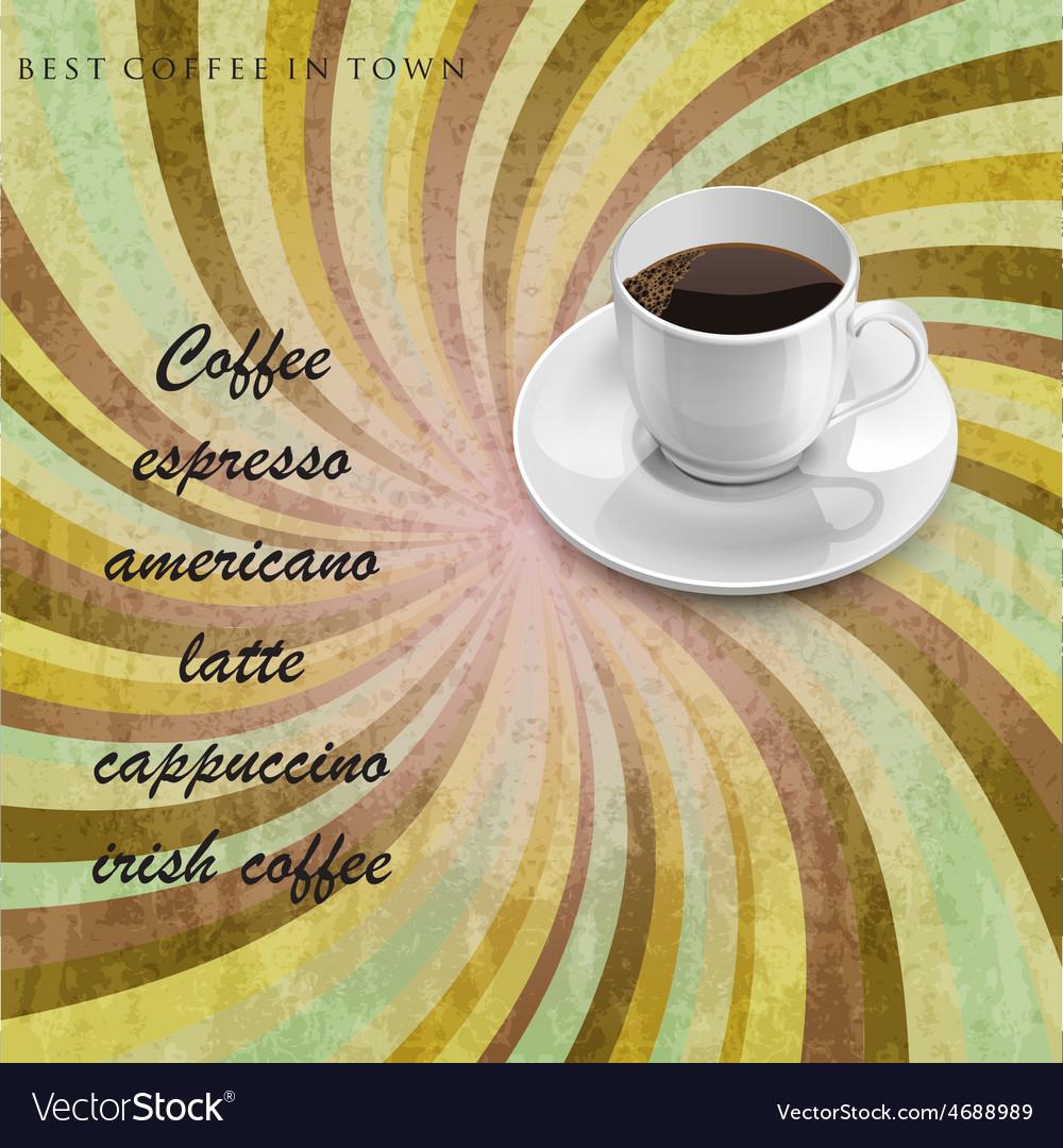 Menu for coffee shop vector | Price: 1 Credit (USD $1)