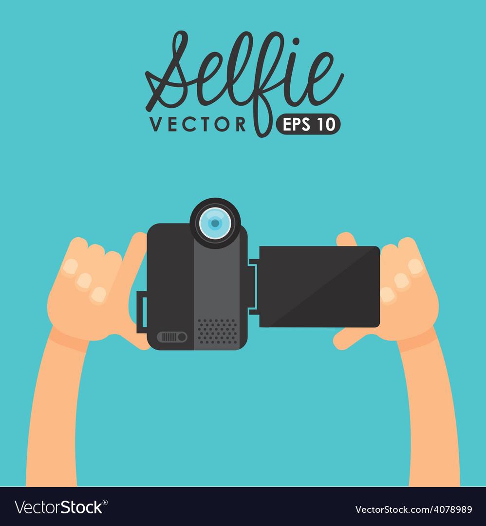 Photo selfie vector | Price: 1 Credit (USD $1)