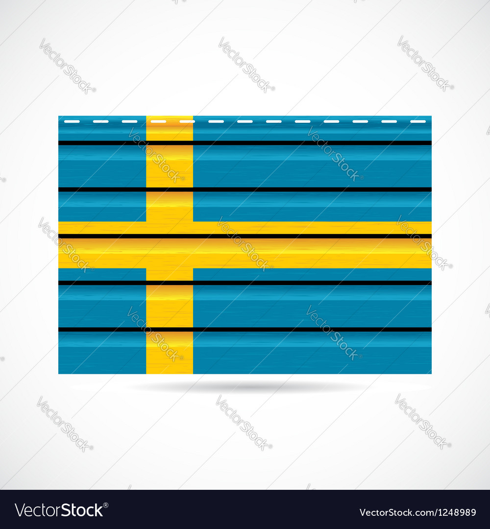 Siding produce company icon sweden vector | Price: 1 Credit (USD $1)