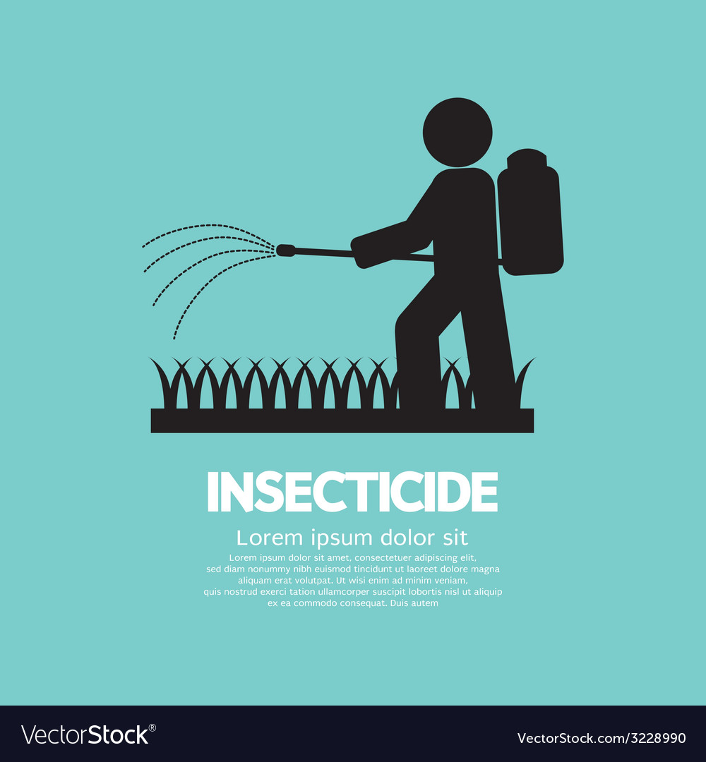 Human spraying insecticide vector | Price: 1 Credit (USD $1)