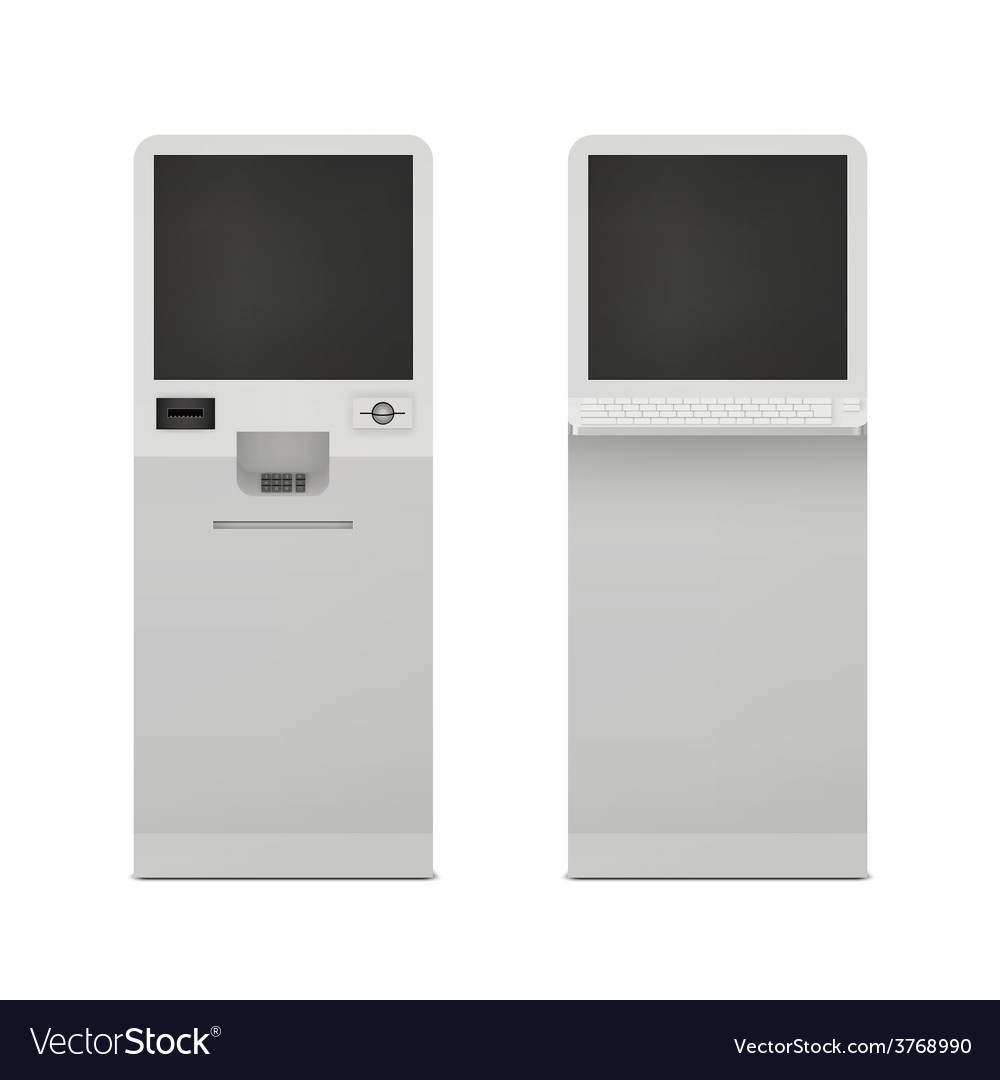 Information terminal set vector | Price: 1 Credit (USD $1)