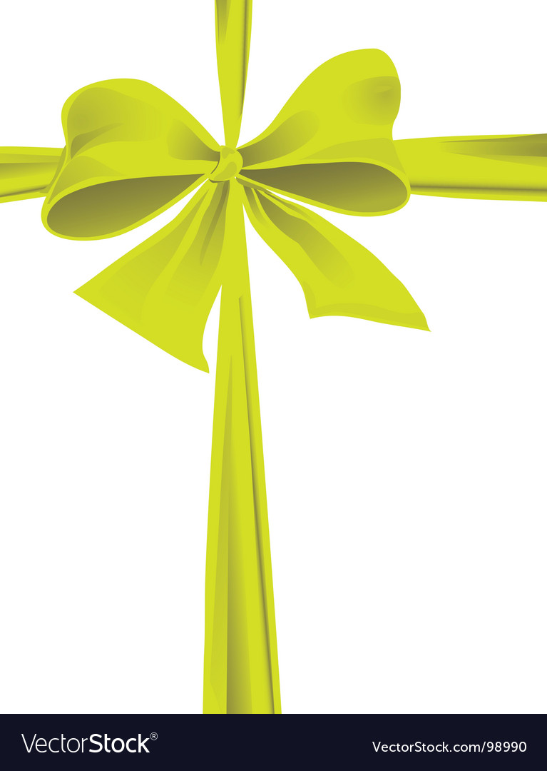Ribbon bow vector | Price: 1 Credit (USD $1)