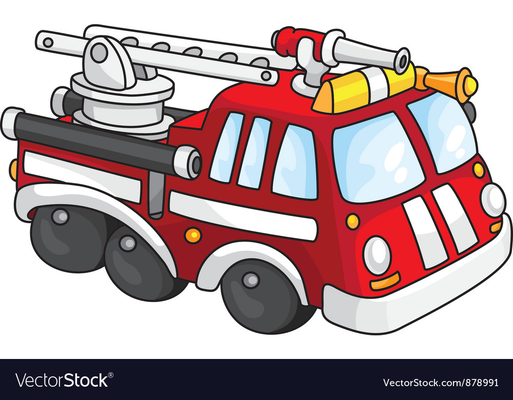 Fire engine vector | Price: 3 Credit (USD $3)