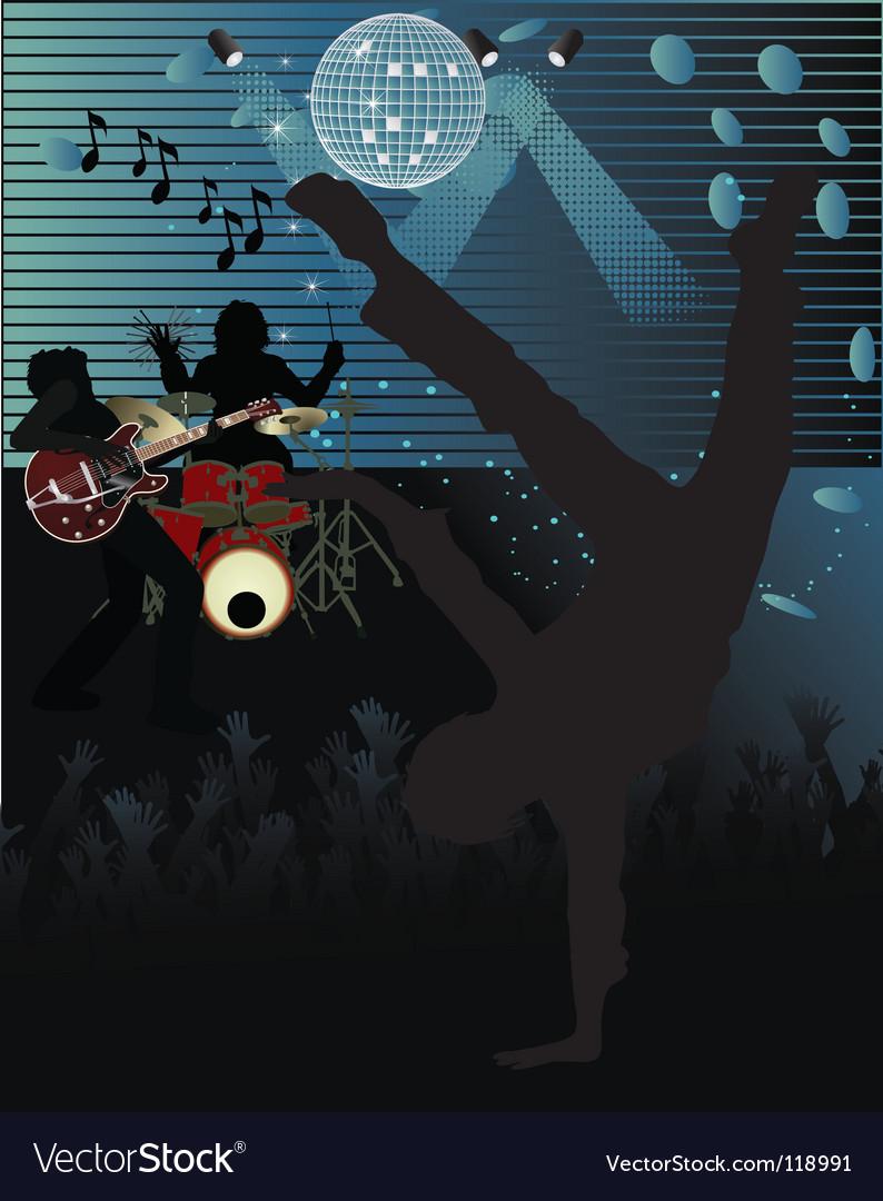 Live concert vector | Price: 1 Credit (USD $1)