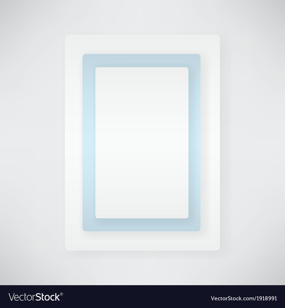 Paper rectangular vector | Price: 1 Credit (USD $1)
