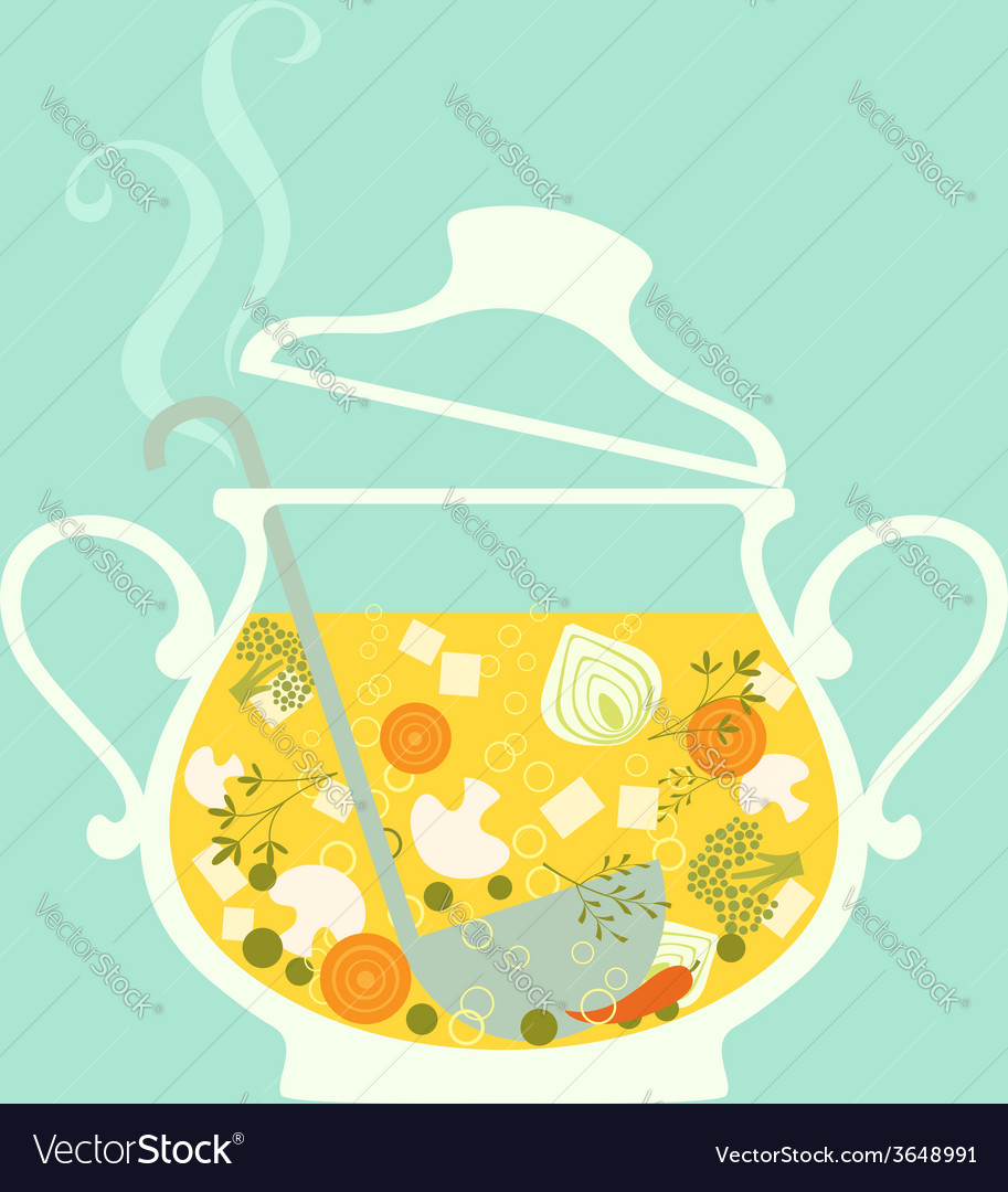 Soup vector | Price: 1 Credit (USD $1)