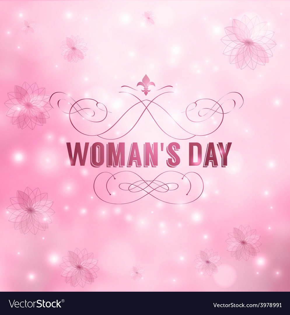 Womans day vector | Price: 1 Credit (USD $1)
