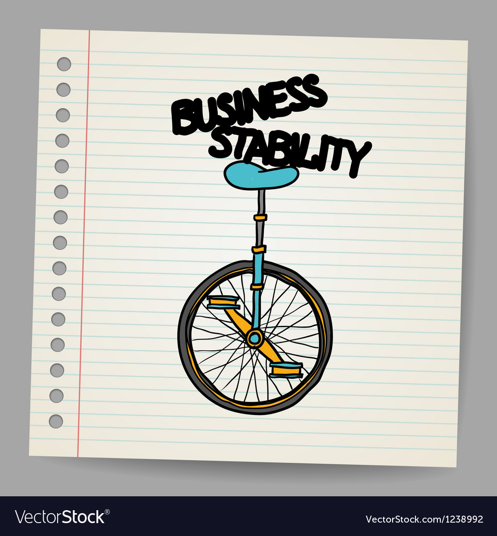 Business stability concept vector | Price: 1 Credit (USD $1)