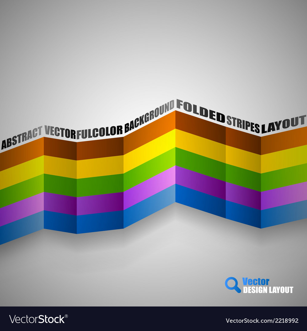 Color stripes vector | Price: 1 Credit (USD $1)