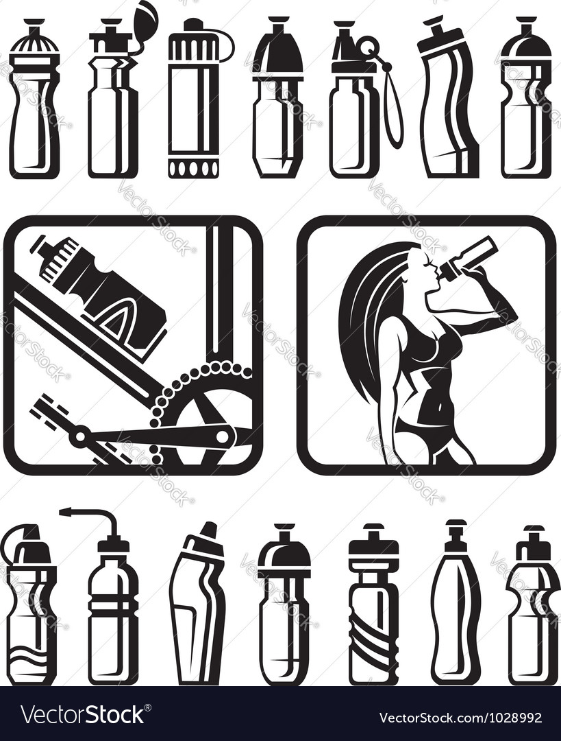 Water bottles vector   Price: 1 Credit (USD $1)