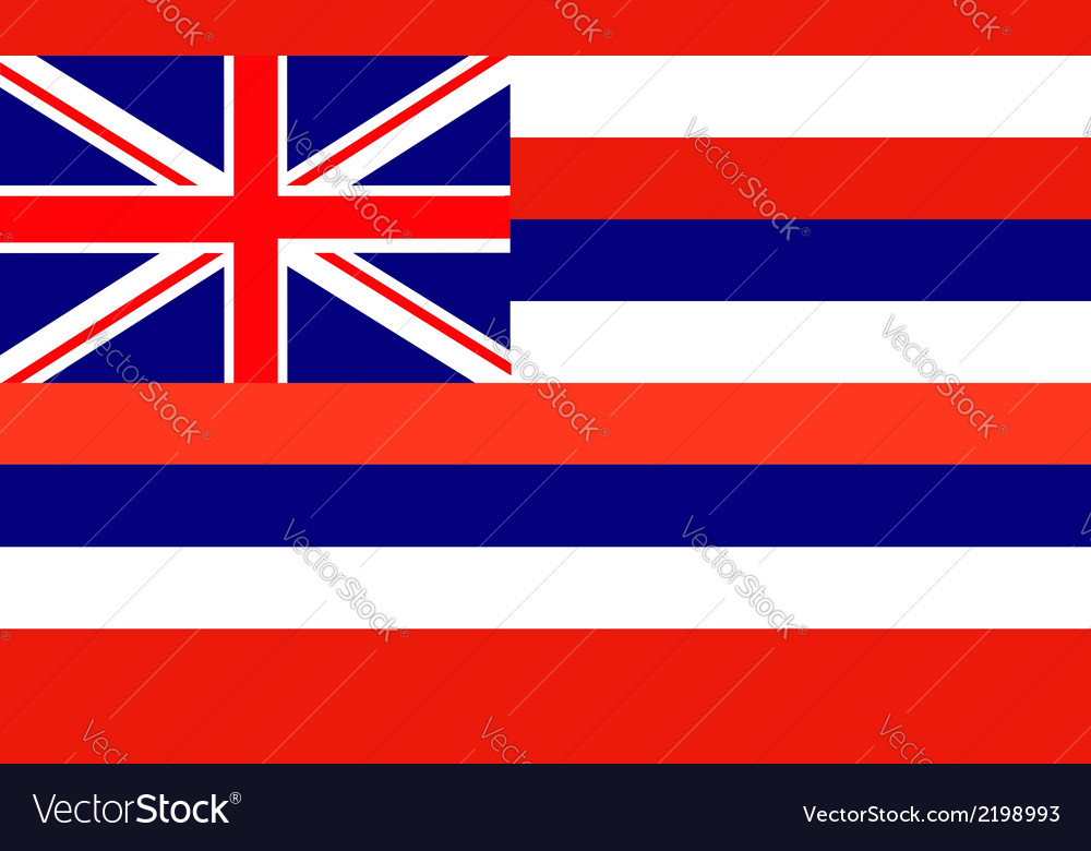 Hawaii vector | Price: 1 Credit (USD $1)
