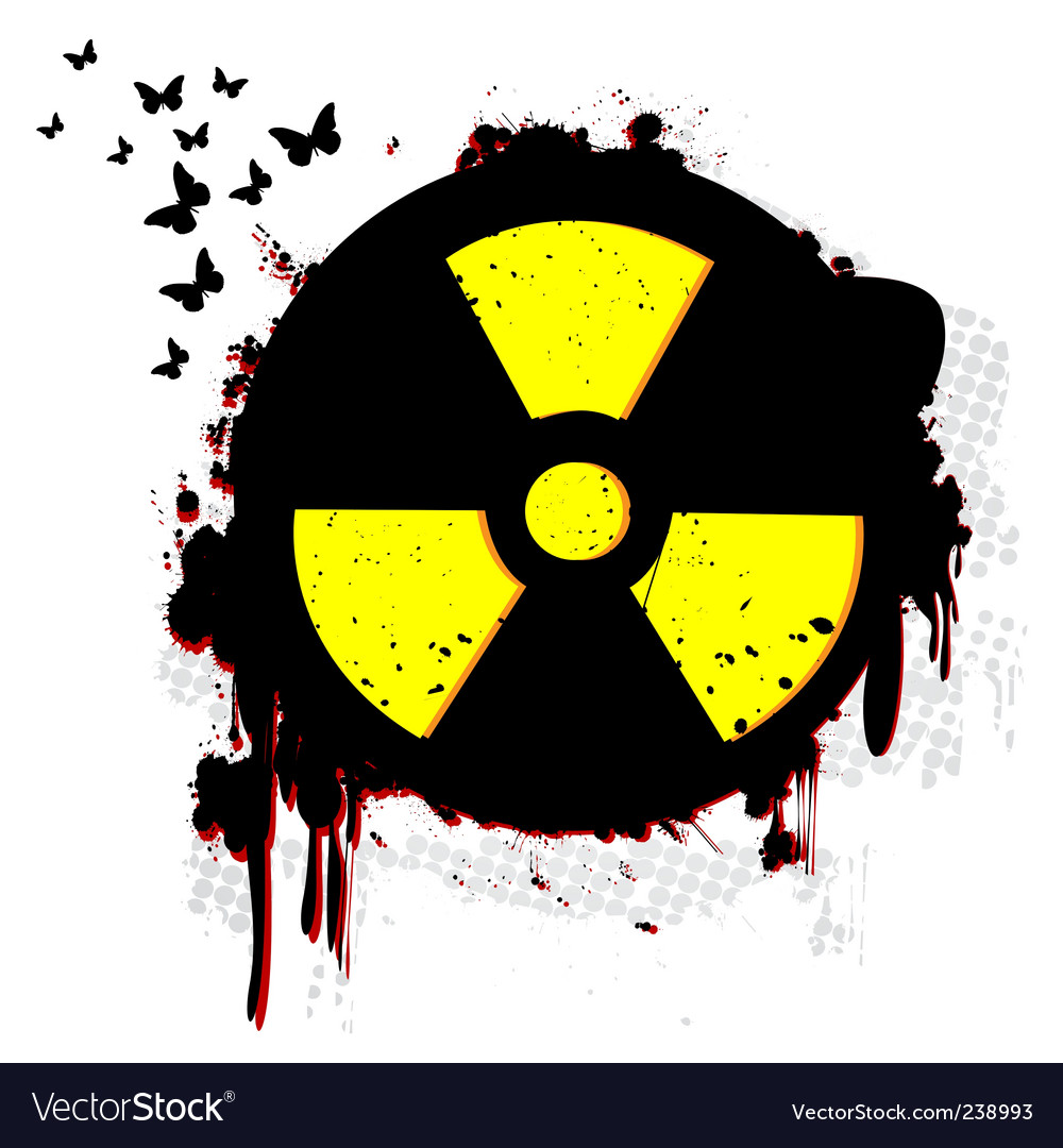 Nuclear hazard vector | Price: 1 Credit (USD $1)
