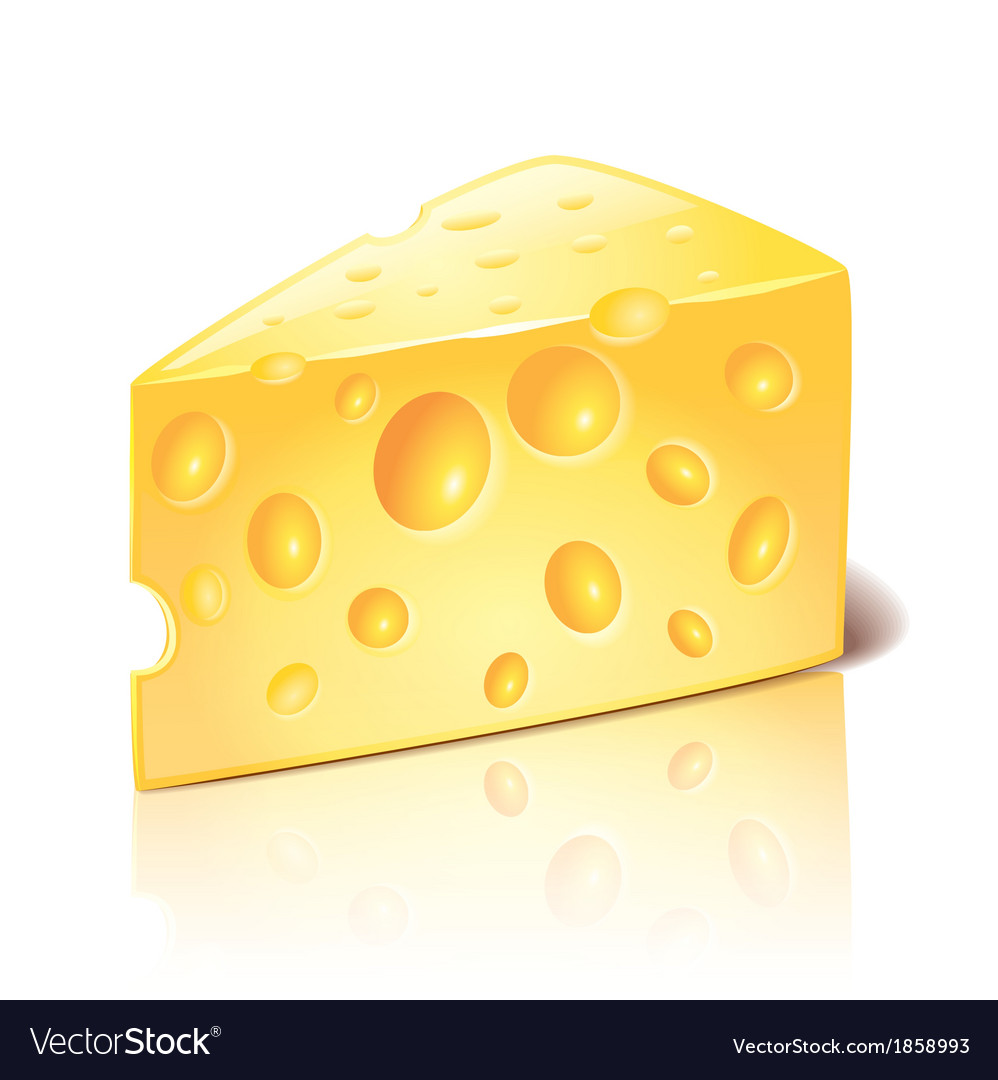 Object cheese vector | Price: 1 Credit (USD $1)