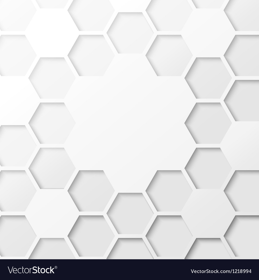 Abstract hexagon background vector | Price: 1 Credit (USD $1)