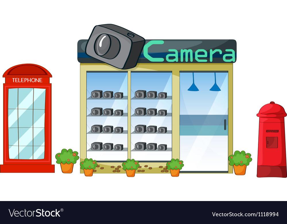 Camera shop vector   Price: 1 Credit (USD $1)