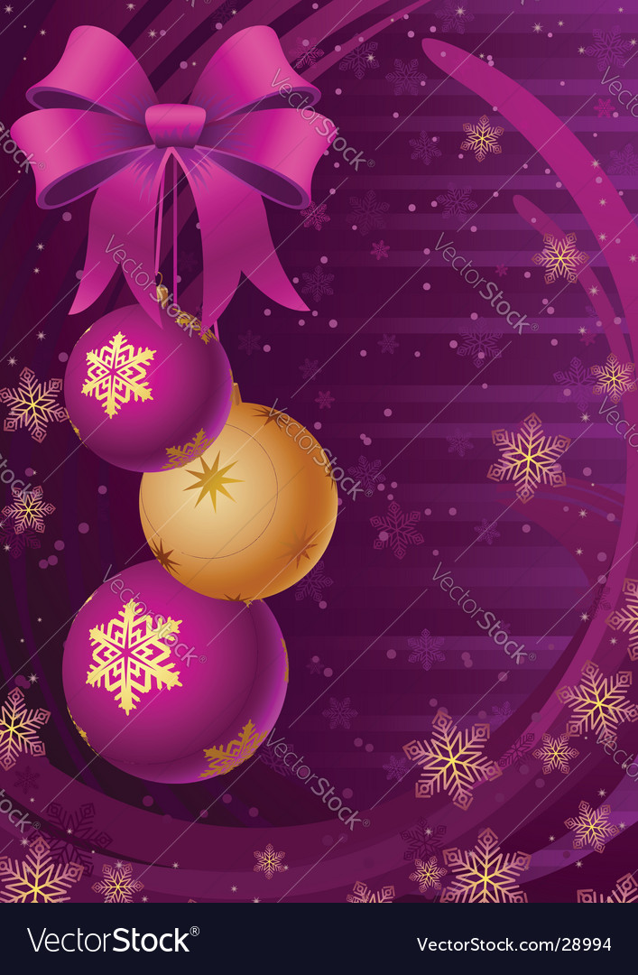 Christmas decor vector | Price: 1 Credit (USD $1)