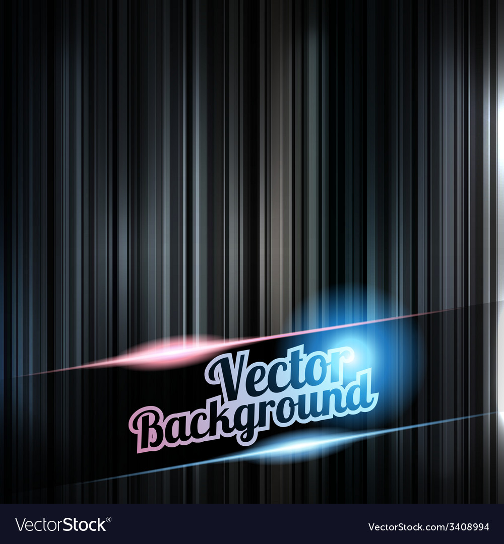 Colorful and shiny stripes background with place vector | Price: 1 Credit (USD $1)