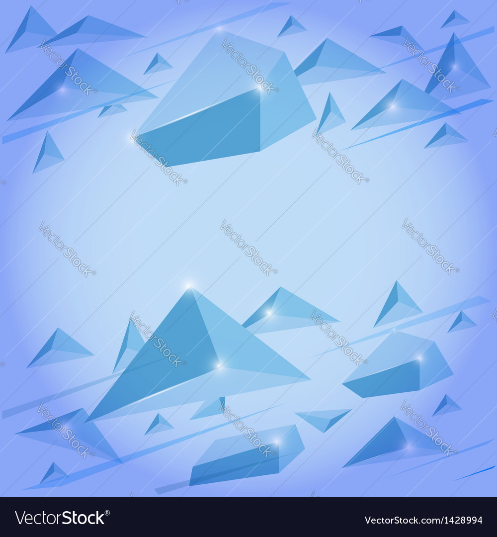 Crystal background vector | Price: 1 Credit (USD $1)